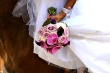 Aurélie et Franck - le bouquet