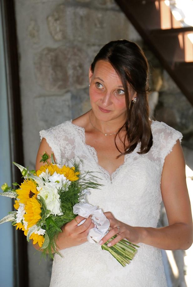 Julie et Samir - le bouquet