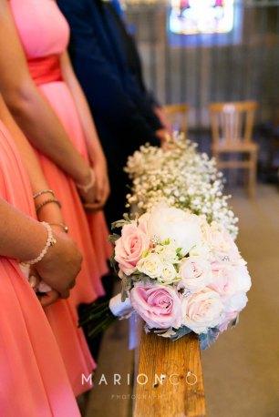 Laura et Vincent - Les bouquets du cortège