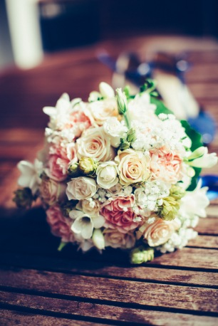 Lucie et Baptiste - le bouquet